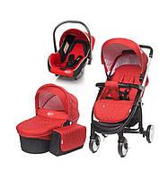 Детская универсальная коляска 3 в 1 4baby Atomic Red