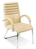 Офисное кресло конференционное Galaxy Steel CF LB Chrome / Галакси Стил Хром Nowy Styl