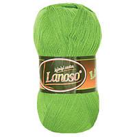 Пряжа Lanoso Lif 978 для ручного вязания
