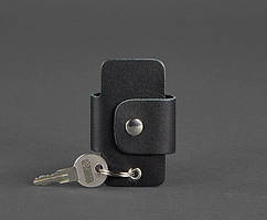 Чехол для ключей кожаный ключница черная BN-KL-4-g