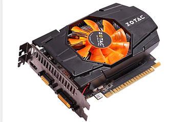 Zotac GeForce GTX650 1Gb DDR5 Гарантя 3 мес.