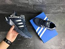 Кроссовки Adidas Fast Marathon,сетка,синие с белым 43, фото 2