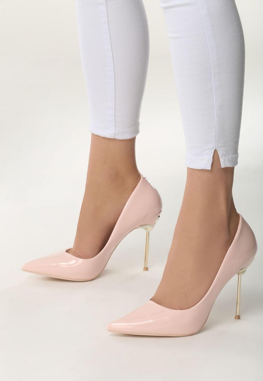 da78f17fc Розовые женские туфли высокий каблук лакированные 40 Vices - Интернет  магазин
