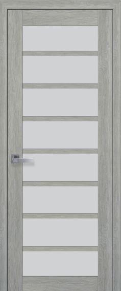 Межкомнатные двери со стеклом сатин VIOLA