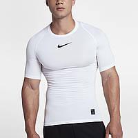 Термобелье компрессионное Nike Pro Top Compression 838091-100 Белый S