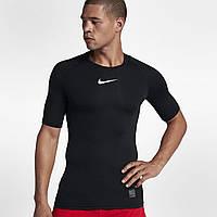 Термобелье компрессионное Nike Pro Top Compression 838091-010 Черный XL