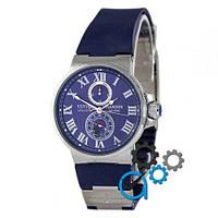 Наручные мужские часы Ulysse Nardin Maxi Marine AA Silver-Blue