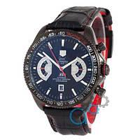 Наручные мужские часы Tag Heuer Grand Carrera Calibre 17 Mechanic Black
