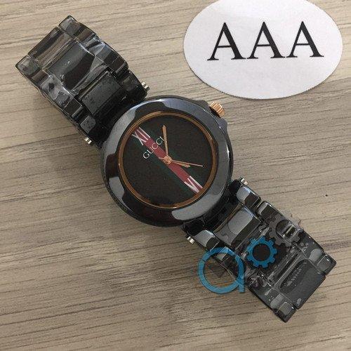 Наручные женские часы Gucci Hight-Tech Ceramic Gold-Black