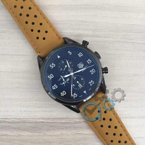Наручные мужские часы TAG Heuer Carrera 1887 SpaceX Mechanic All Black CL