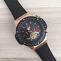 Наручные мужские часы Hublot Big Bang F1 Automatic All Black-Red