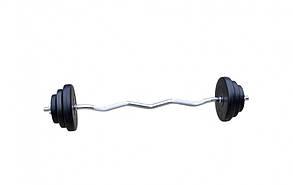 Штанга W-подібна розбірна 27 кг