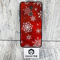 Чехол с рисунком для Xiaomi Redmi 5 Снежинка
