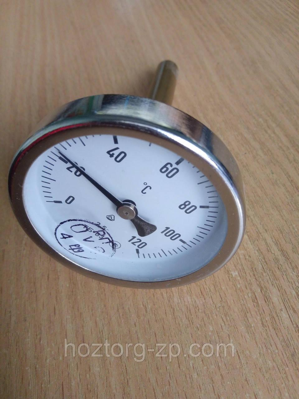 Термометр биметаллический ТБ-63-120 град.