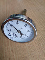 Термометр биметаллический ТБ-63-120 град., фото 1