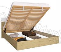 Кровать с подъемным механизмом Sonata / Соната MiroMark 160х200 сан марино / белый глянец