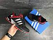 Кроссовки Adidas Fast Marathon,сетка,черные с красным 41,44р, фото 2