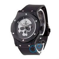 Наручные мужские часы Hublot Skull Bang Mechanic Black/Black - Grey