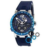 Наручные мужские часы Ulysse Nardin Executive El Toro GMT Perpetual Blue-Silver-Blue
