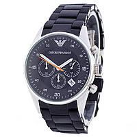 Наручные мужские часы Emporio Armani AR-5905 Silver-Black