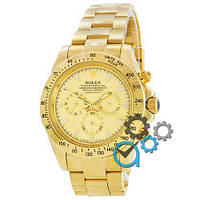 Наручные мужские часы Rolex Daytona AAA Mechanic Gold