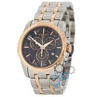 Наручные мужские часы Tissot T-Classic Couturier Chronograph Steel Alt Silver-Gold-Gold-Black