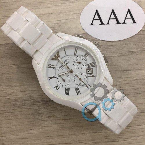 Наручные мужские часы Emporio Armani AAA AR1400 White-Silver