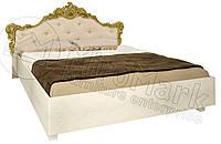 Кровать с мягким изголовьем Виктория / Victoria MiroMark 160х200 радика беж