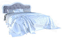 Кровать двухспальная с подъемным механизмом Луиза / Luiza MiroMark 180х200 белый глянец