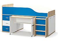 Детская кровать - чердак Лео Мебель Сервис 90х200