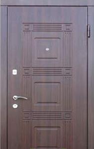 Двери К 202 Оптима дуб темный «Стильные двери» (Украина)