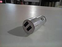 Автомобильная зарядка на 2 USB