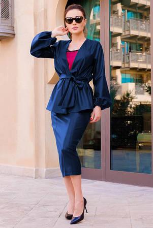 Модная женская одежда из эко кожи