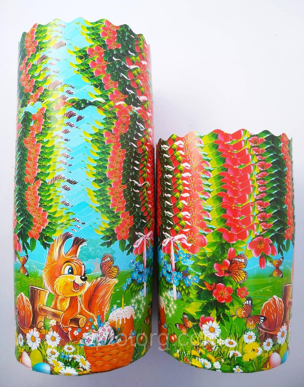 Бумажные формы для выпечки оптом 70*85 Детские