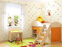Детская комната Маугли Санти Мебель оранж