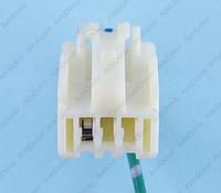Разъем электрический 3-х контактный (12-9) б/у 11777