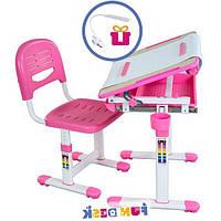 Детская парта - мольберт со стульчиком, розовый, фото 1