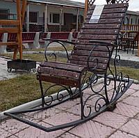 Кресло-качалка (кованая)