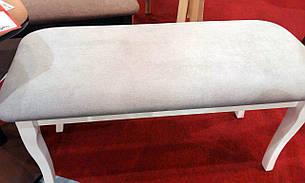 Пуфик деревянный белый Лорд   Модуль Люкс, фото 2
