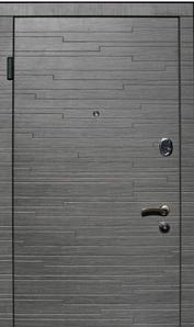 Двери К 217 Оптима венге серый «Стильные двери» (Украина)