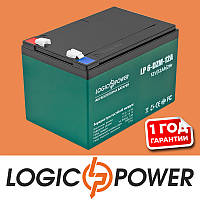 Аккумулятор тяговый свинцово-кислотный AGM LogicPower LP 6-DZM-12 - Гарантия 1 год