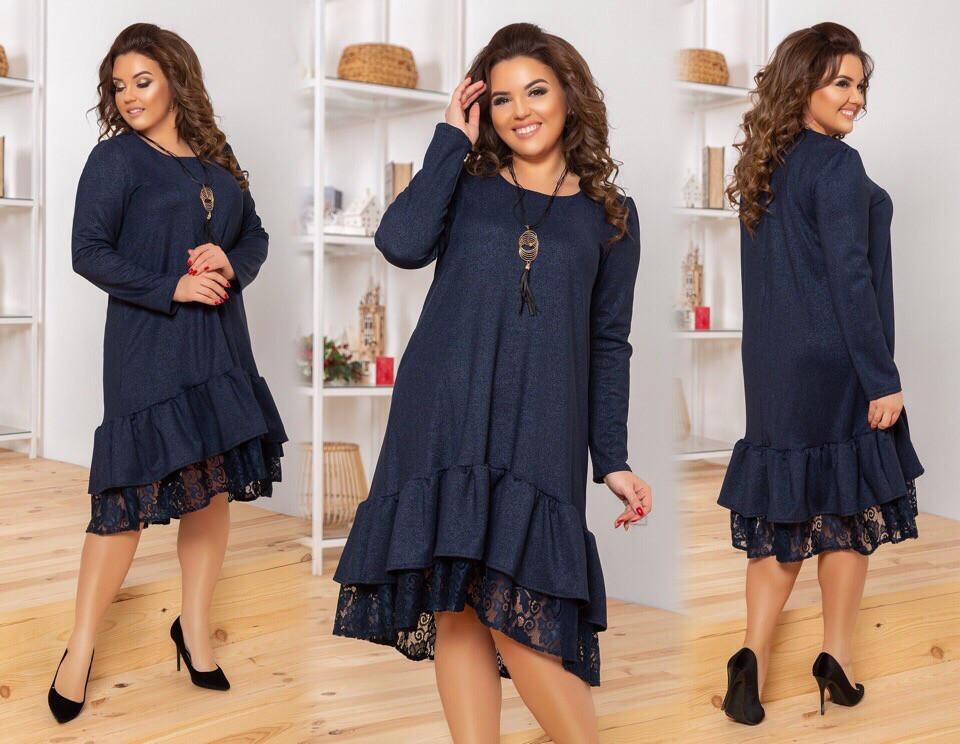 Женское стильное платье  ЮЭ2302 (бат)