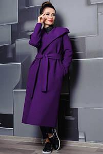 Жіноче пальто з капюшоном Маріз