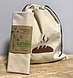 Экомешок для вещей и продуктов, еко торбинка, екоторбинка, хлопковый мешок, хлебница, фото 3