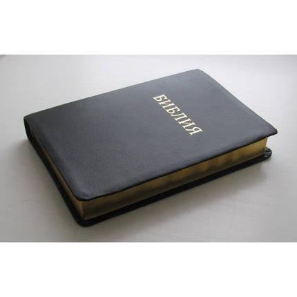 Біблія 17х24 см, шкіра, фото 2