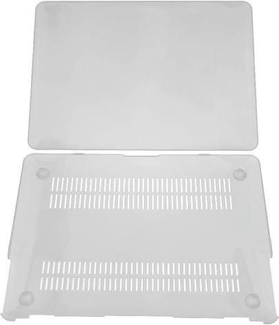 Чохол-накладка TOTO для Apple MacBook Pro 13.3 A1706 / A1708 Пластик Прозорий, фото 2