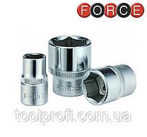 "Головка шестигранная 1/4"", 9 мм (Force 52509)"