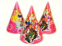 Праздничные шапочки Winx набор 20 шт