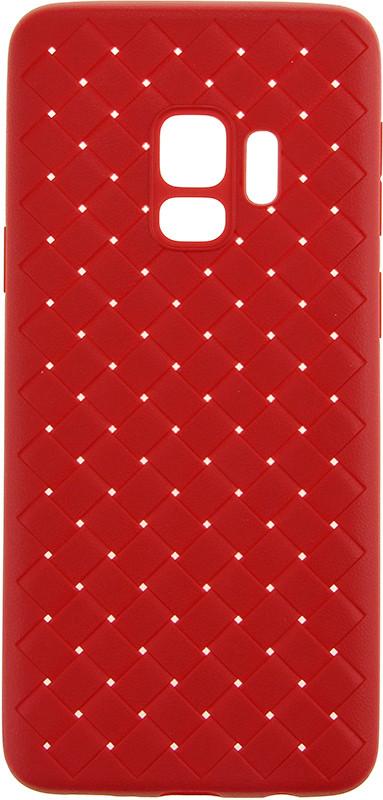 Чехол накладка Rock для Samsung Galaxy S9 G960F Ultrathin Weaving Protective Красный (RPC1384)