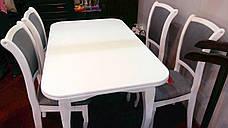Стол обеденный белого цвета  Соренто Модуль Люкс, фото 3